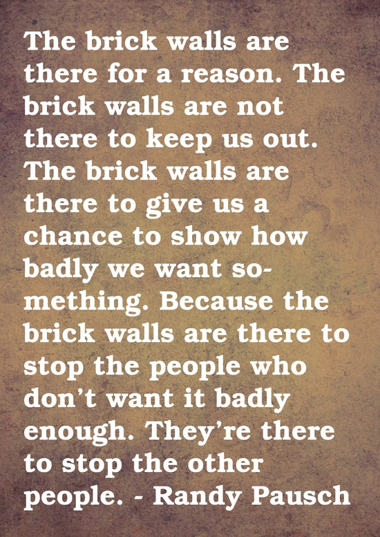 Quote from Randy Pausch