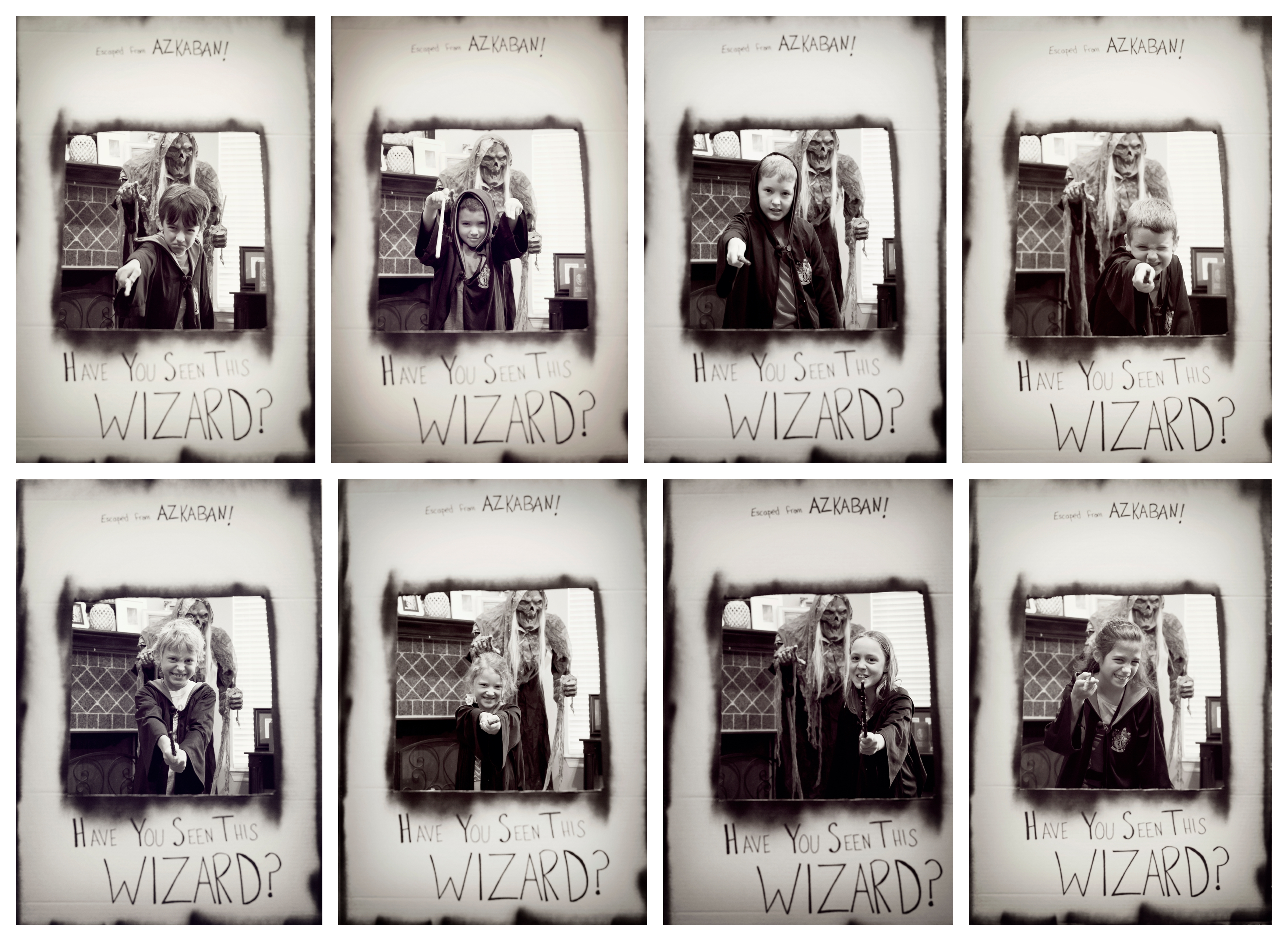 Longview-Harry Potter-Birthday-Child-Photo