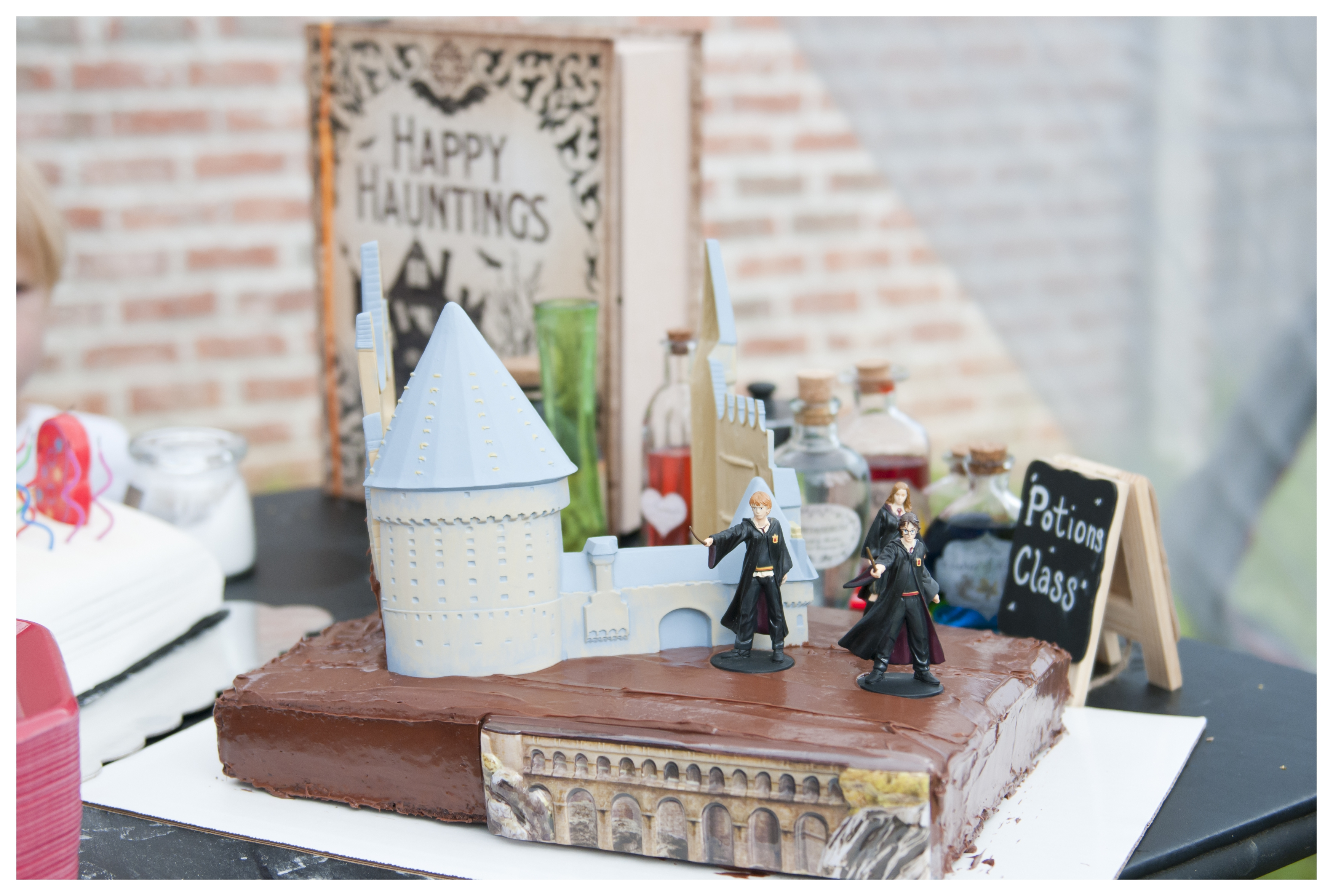 Longview-Harry Potter-Birthday-Cake-Photo