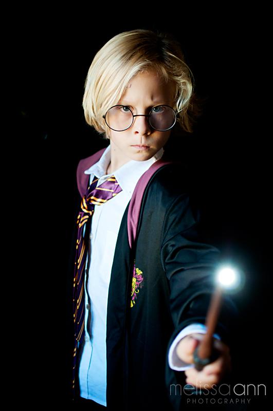 Longview-Harry Potter-Child-Portrait-Photo
